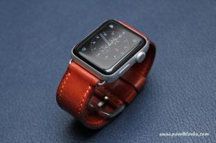 Kožený řemínek na hodinky Apple Watch