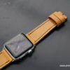 Kožený řemínek pro hodinky Apple watch English bridleh Encglis bridle